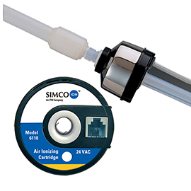 Simco-Ion's Model 6110 Air Ionizing Cartridge for Static Control