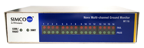 Novx M116 Multichannel Ground Noise Monitor