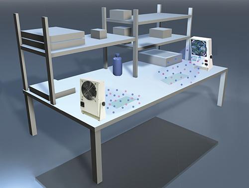 Aerostat PC ionizing flat benchtop